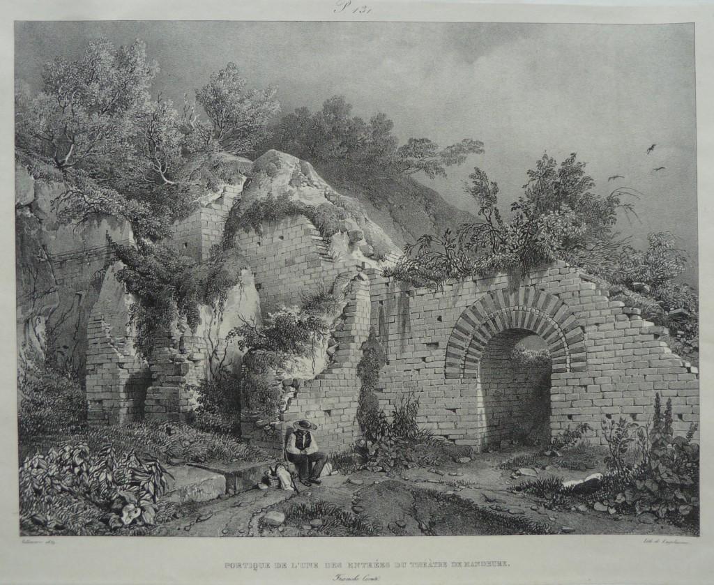 Mandeure – Théâtre antique