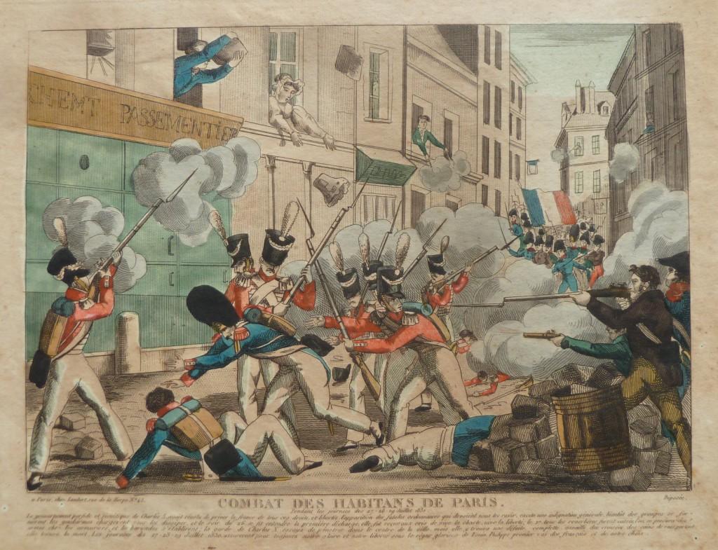 Révolution de 1830 – Monarchie de Juillet