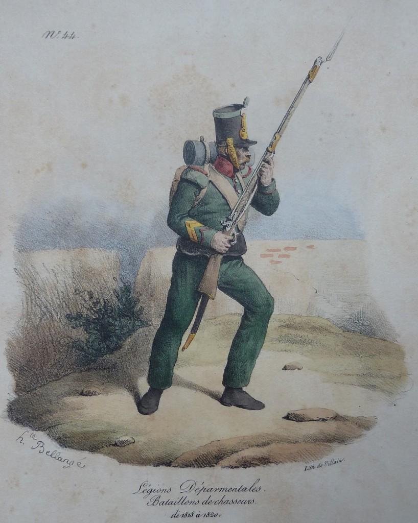 Chasseur – Légions départementales