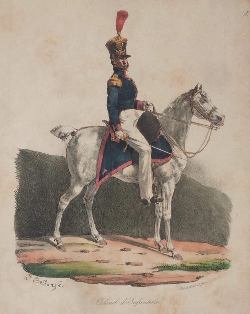 Infanterie – Colonel