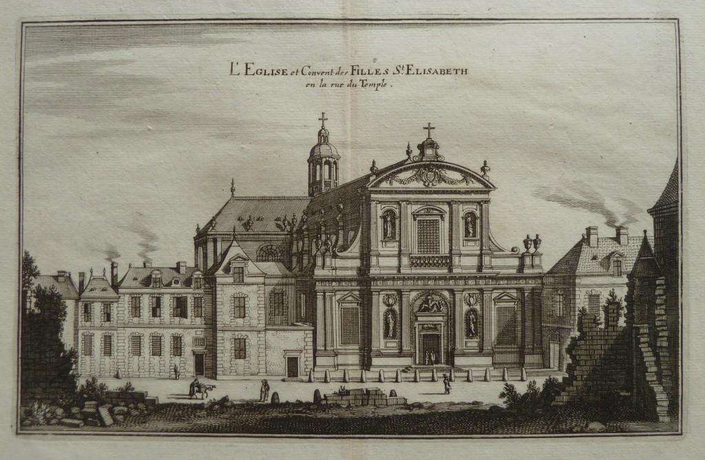 Paris – Eglise Sainte-Elisabeth