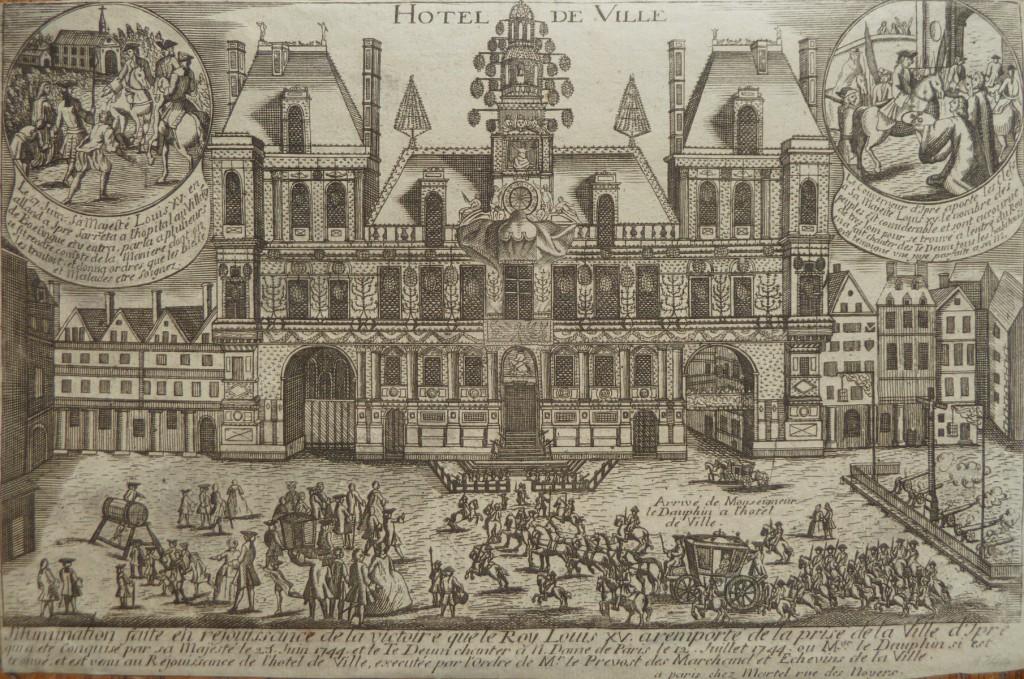 Paris – Hôtel de ville