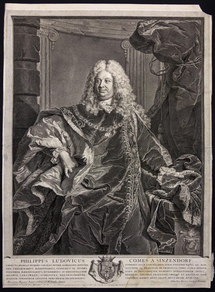 Comte de Sinzendorf-Neubourg – Hyacinthe Rigaud