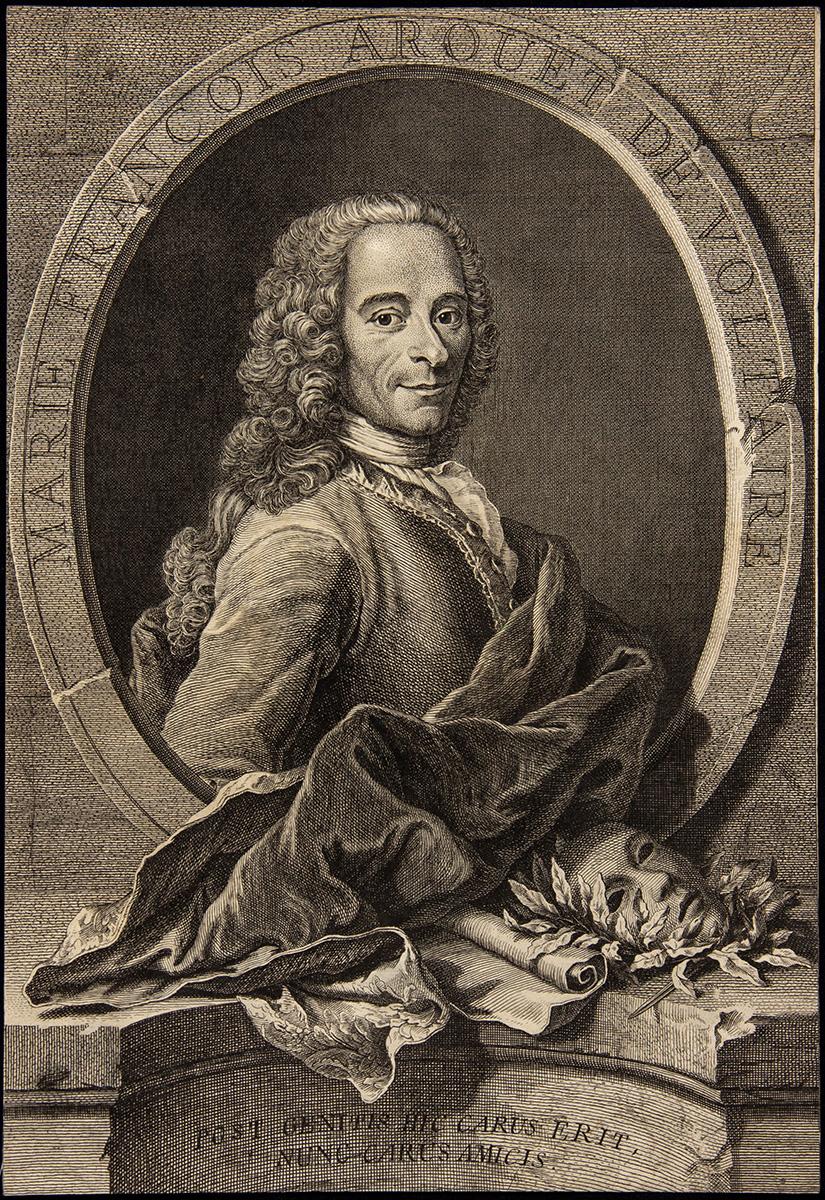 Voltaire – Quentin de la Tour