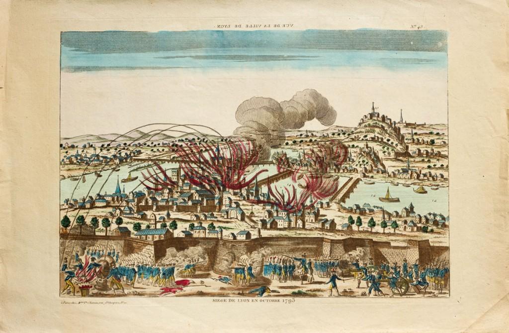 Bombardement de la ville de Lyon