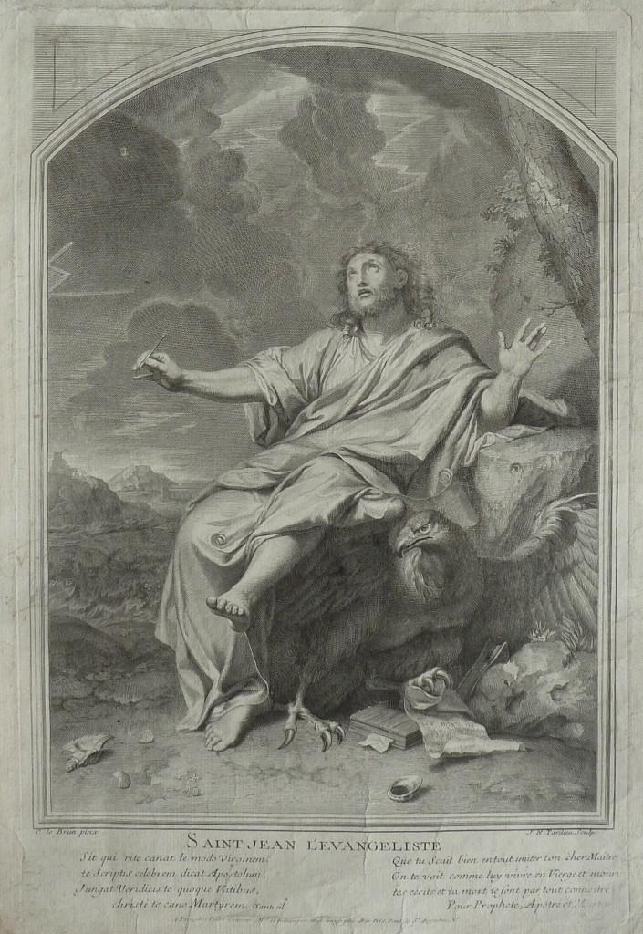 Saint Jean l'Evangéliste – Charles Le Brun