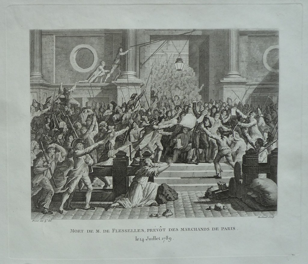 Assassinat de Jacques de Flesselles, prévôt des marchands