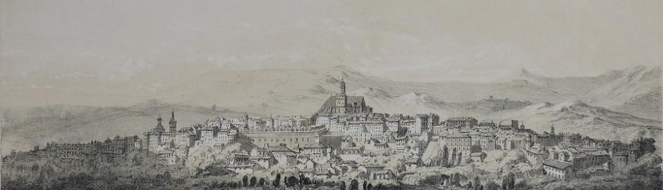 Lithographie d'Hubert Clerget d'après Mourton