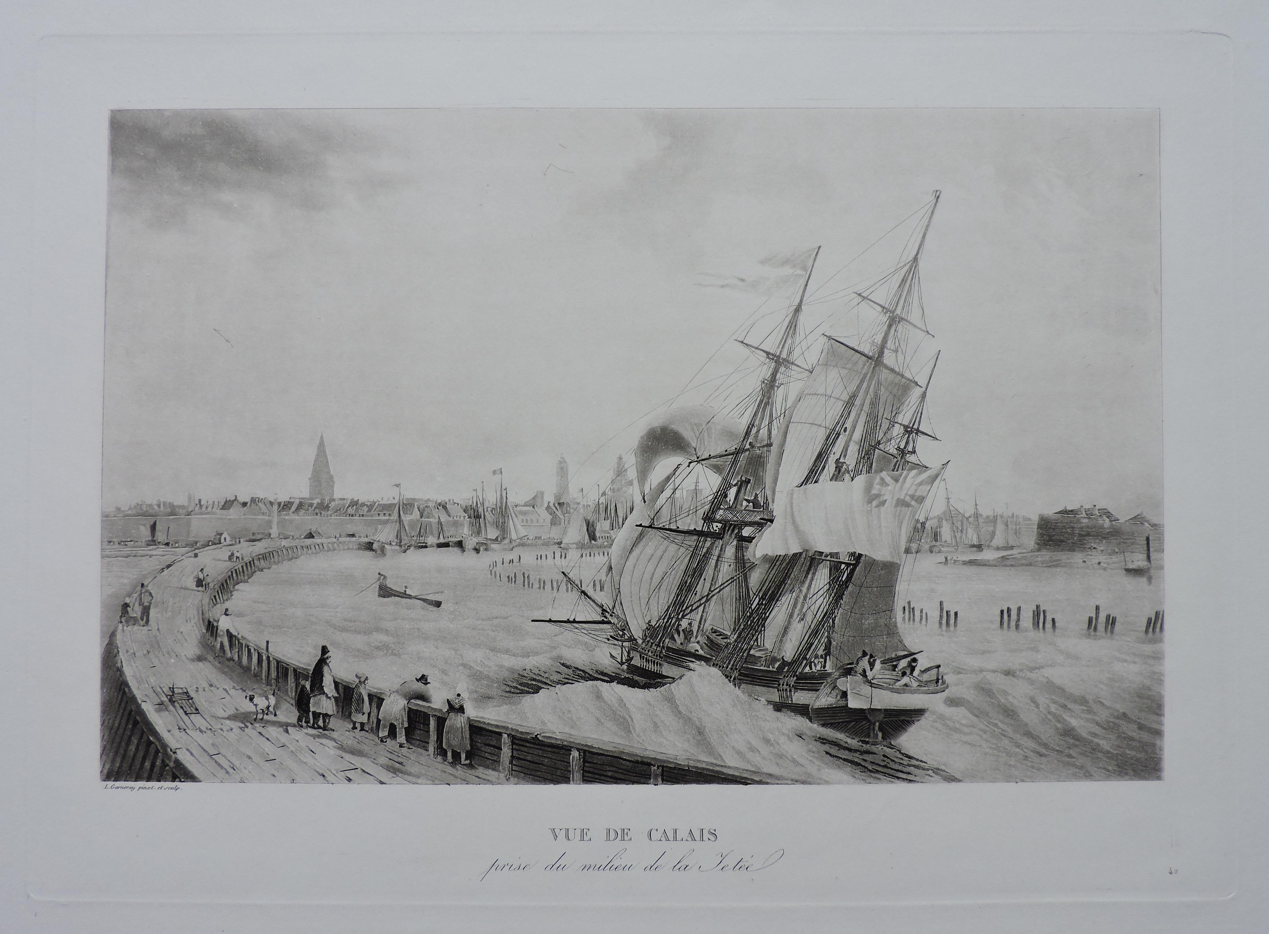 Calais – Louis Garneray
