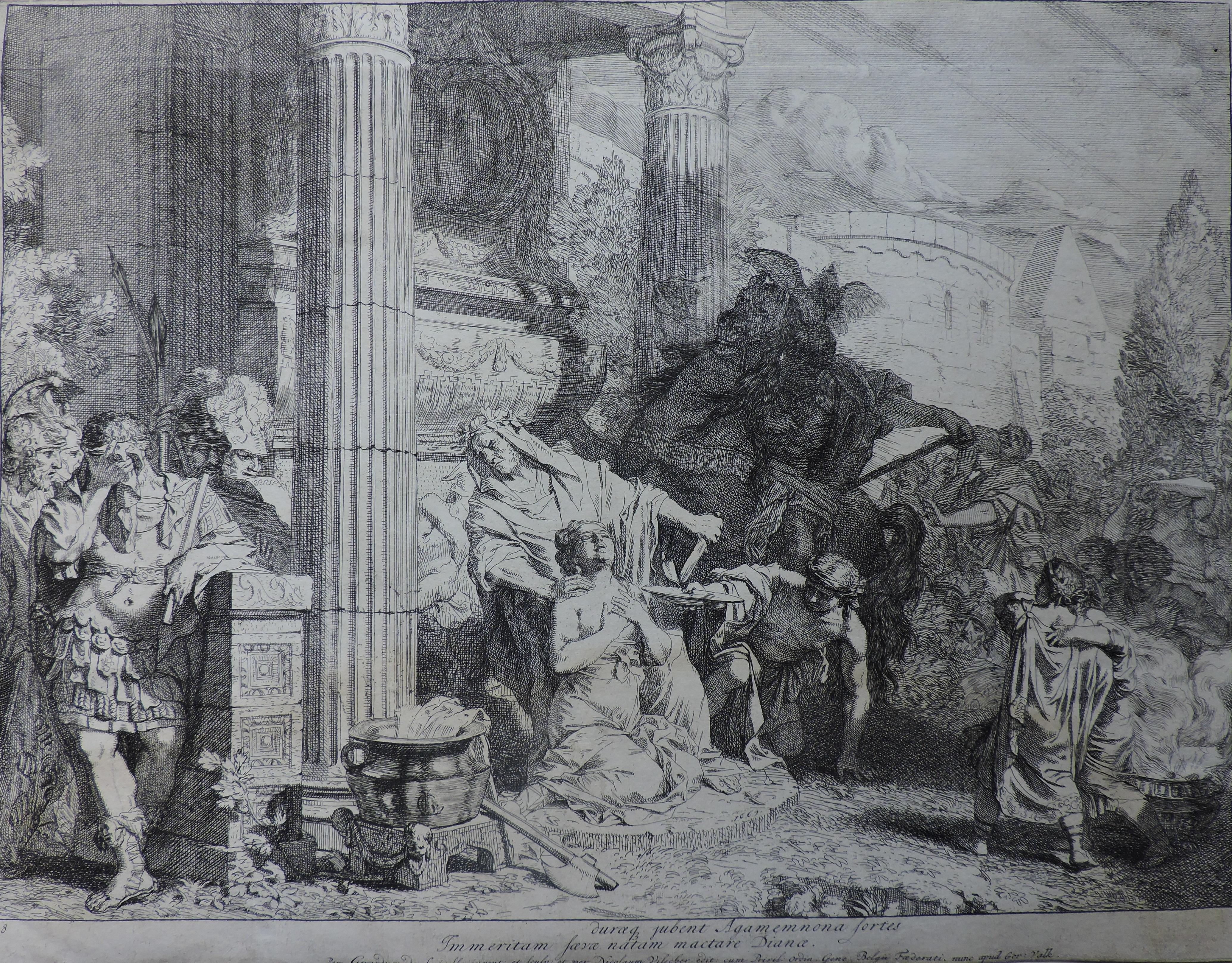 Le Sacrifice d'Iphigénie – Gérard de Lairesse