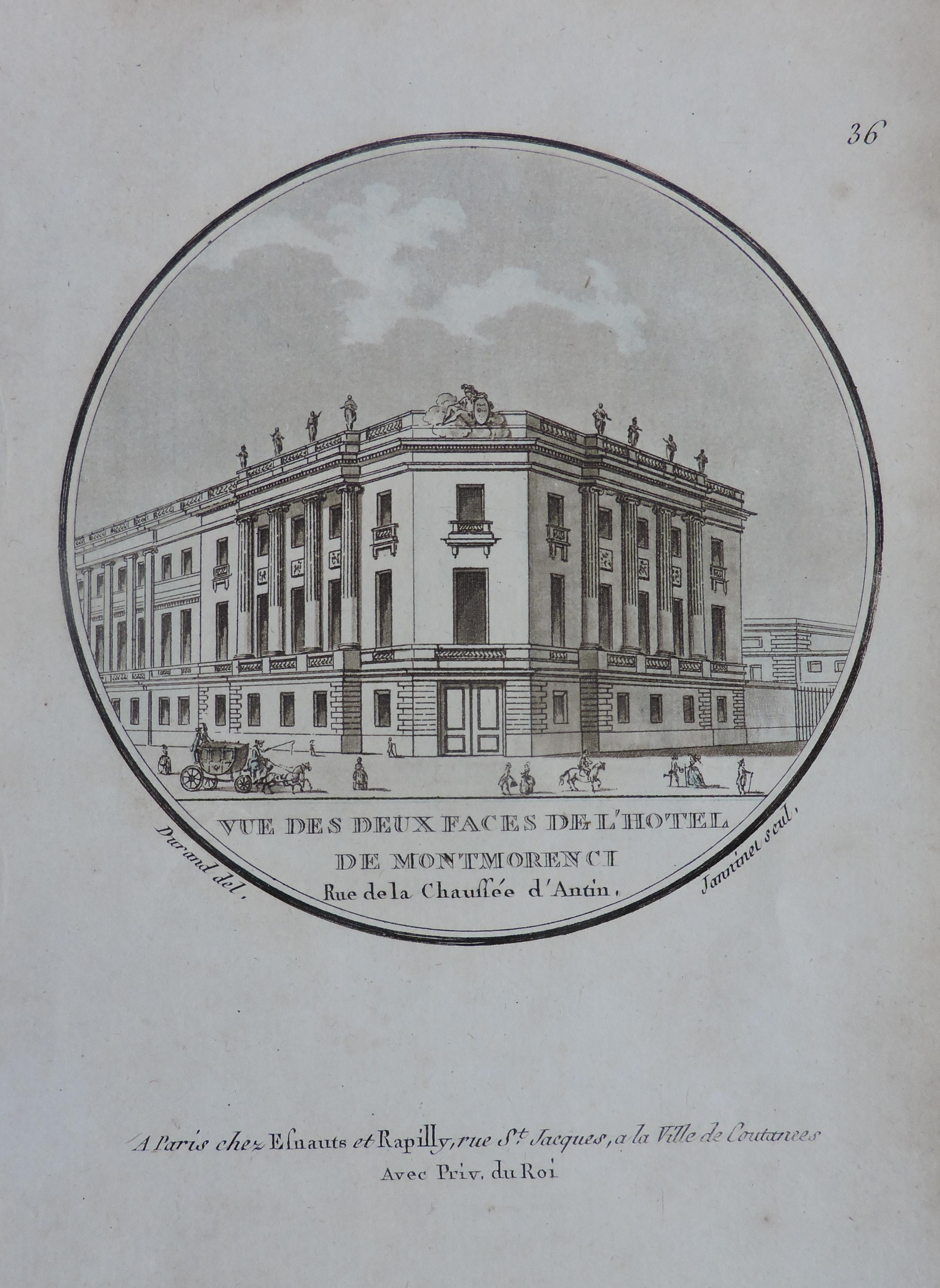 Paris – Hôtel de Montmorency