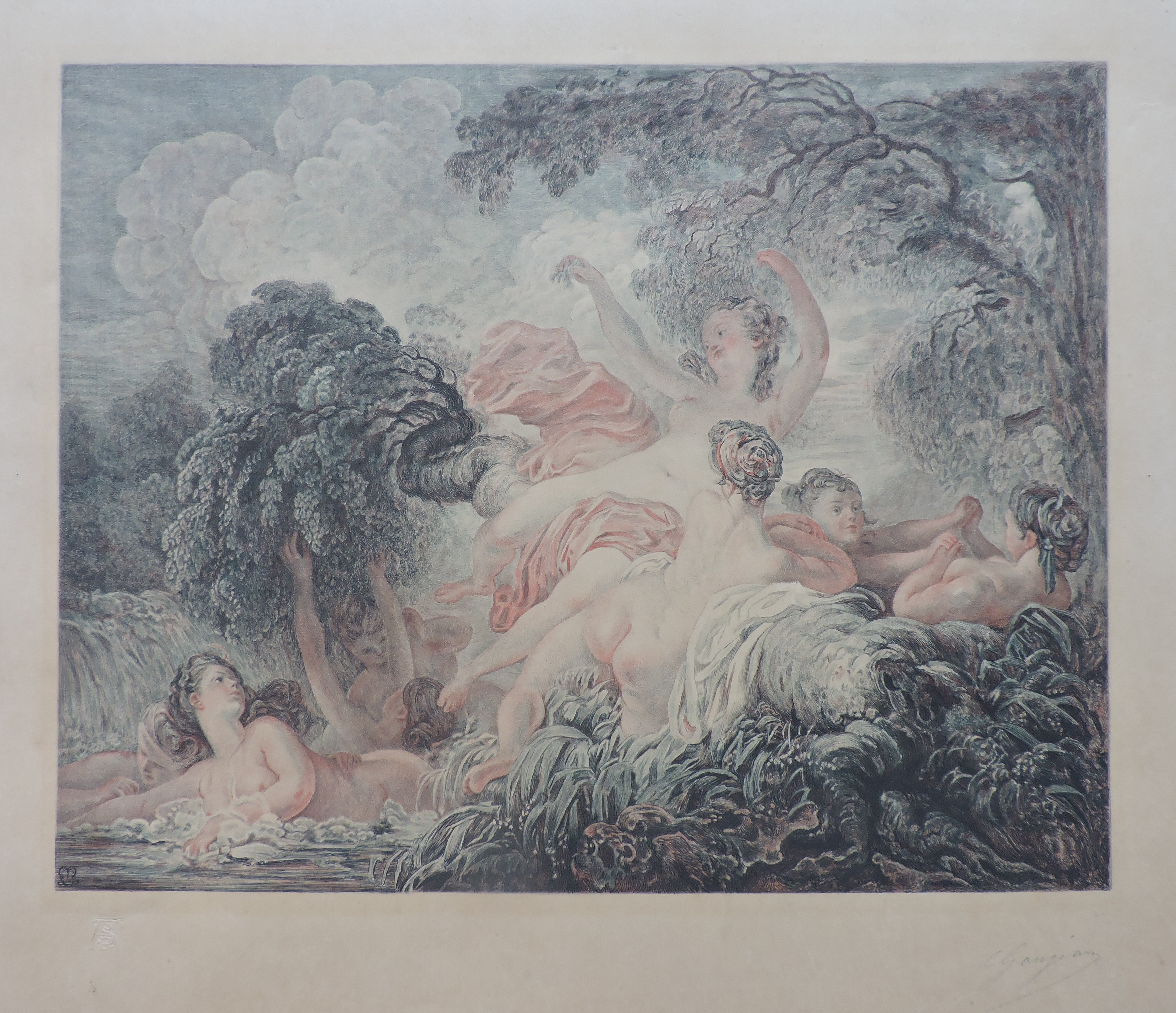 Les Baigneuses – Fragonard