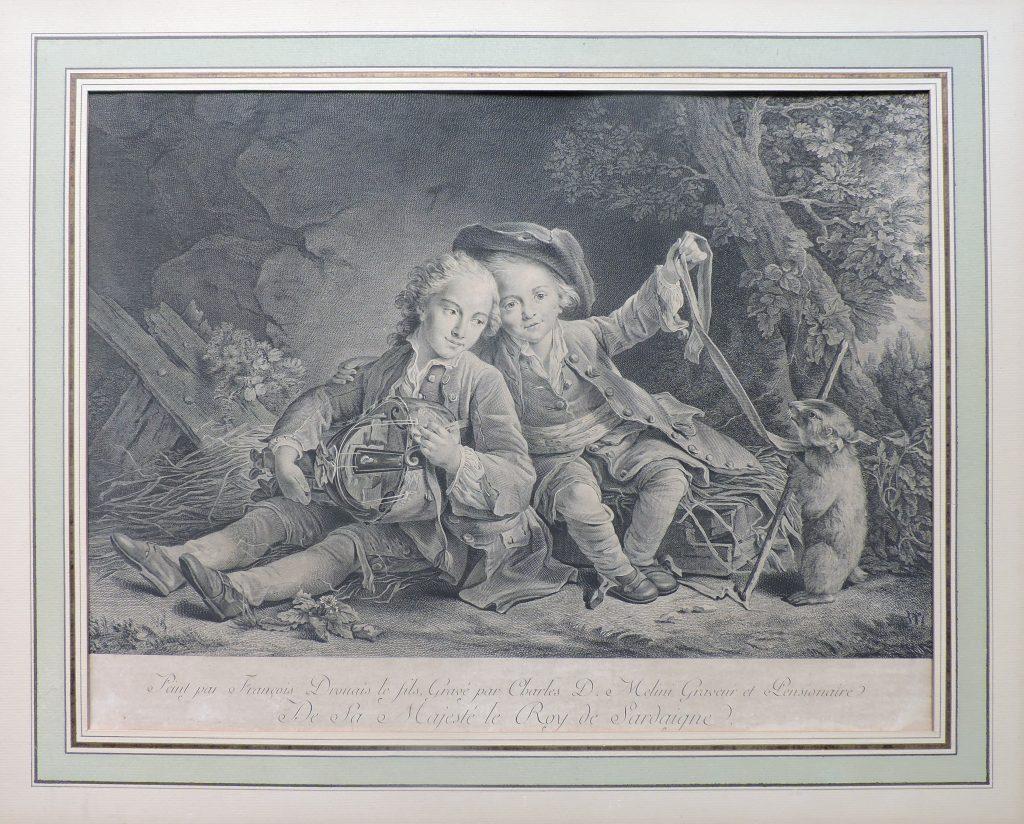 Enfants du duc de Bouillon – François Drouais