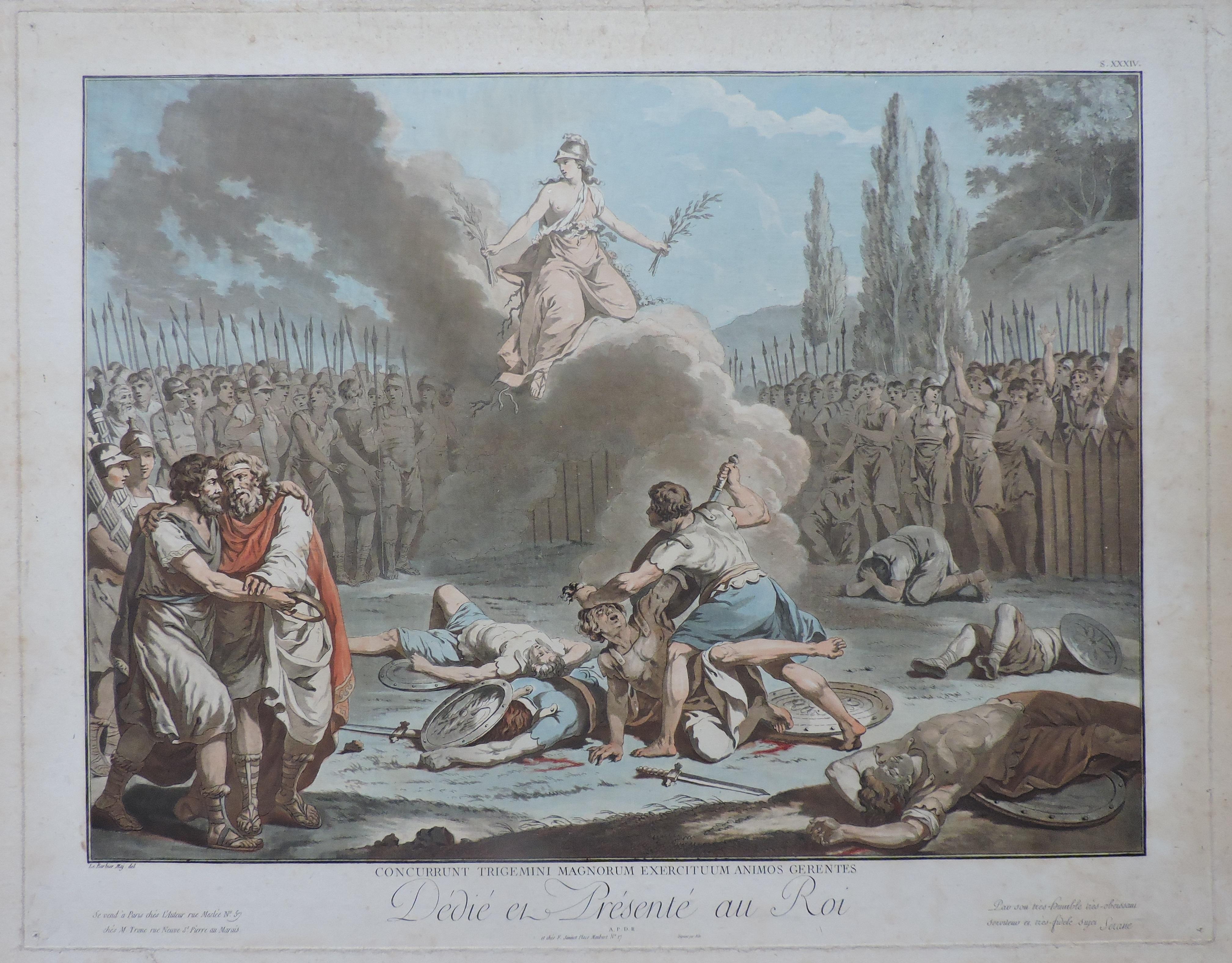 Combat des Horaces et des Curiaces