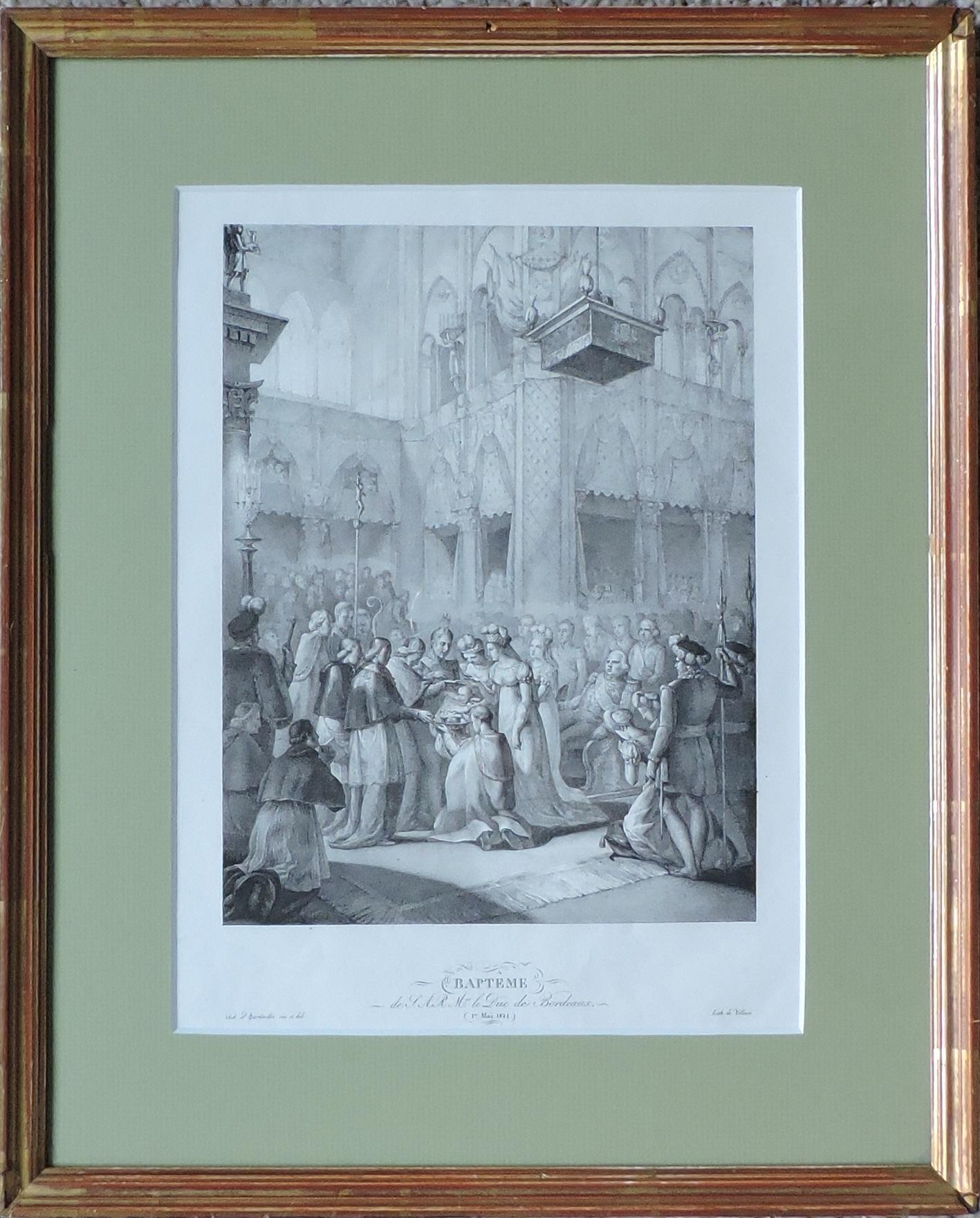 Baptême du duc de Bordeaux