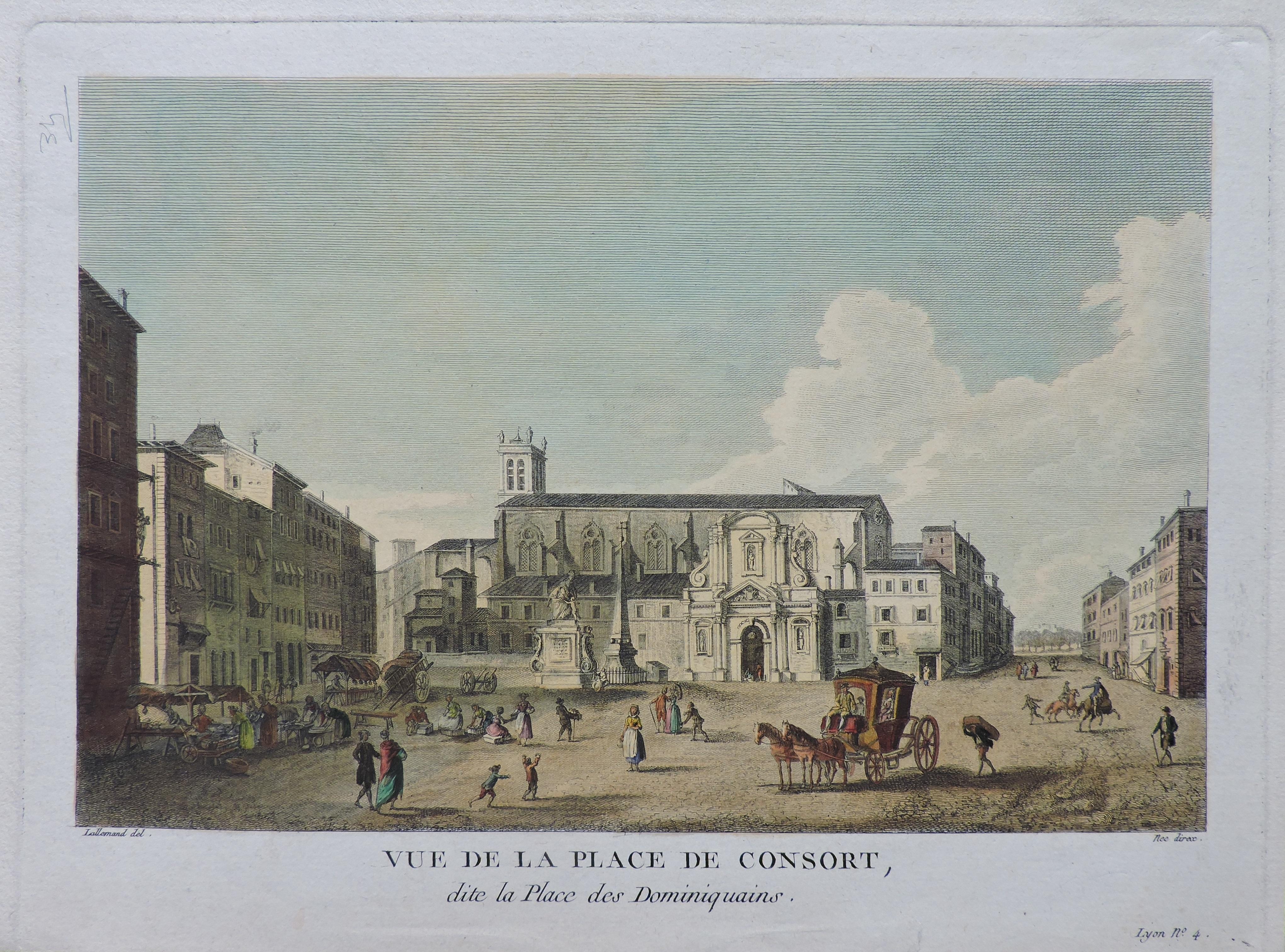 Lyon – Place des Jacobins