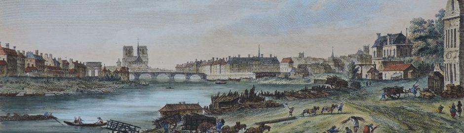 Pont de la Tournelle-Ile Saint-Louis-Ile Louviers-Quai saint-Bernard