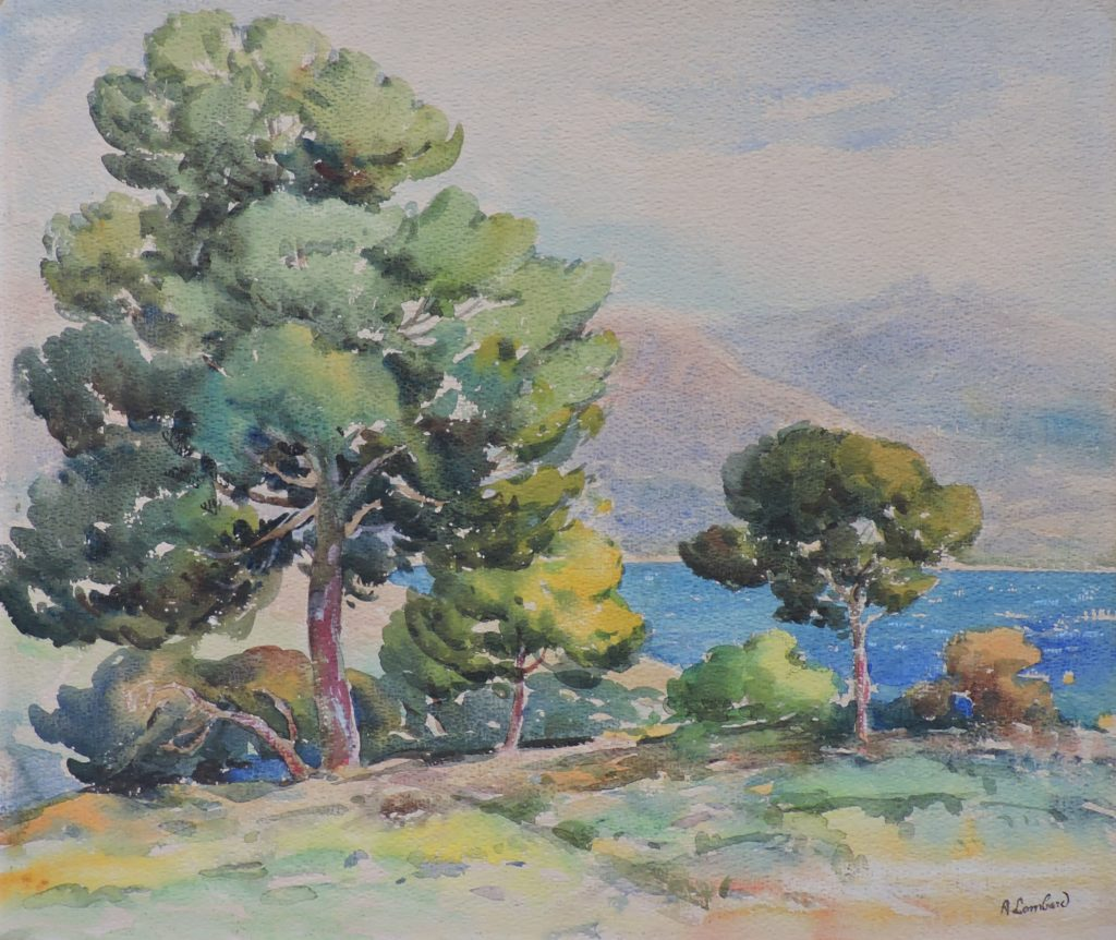 Calanques – Alfred Lombard