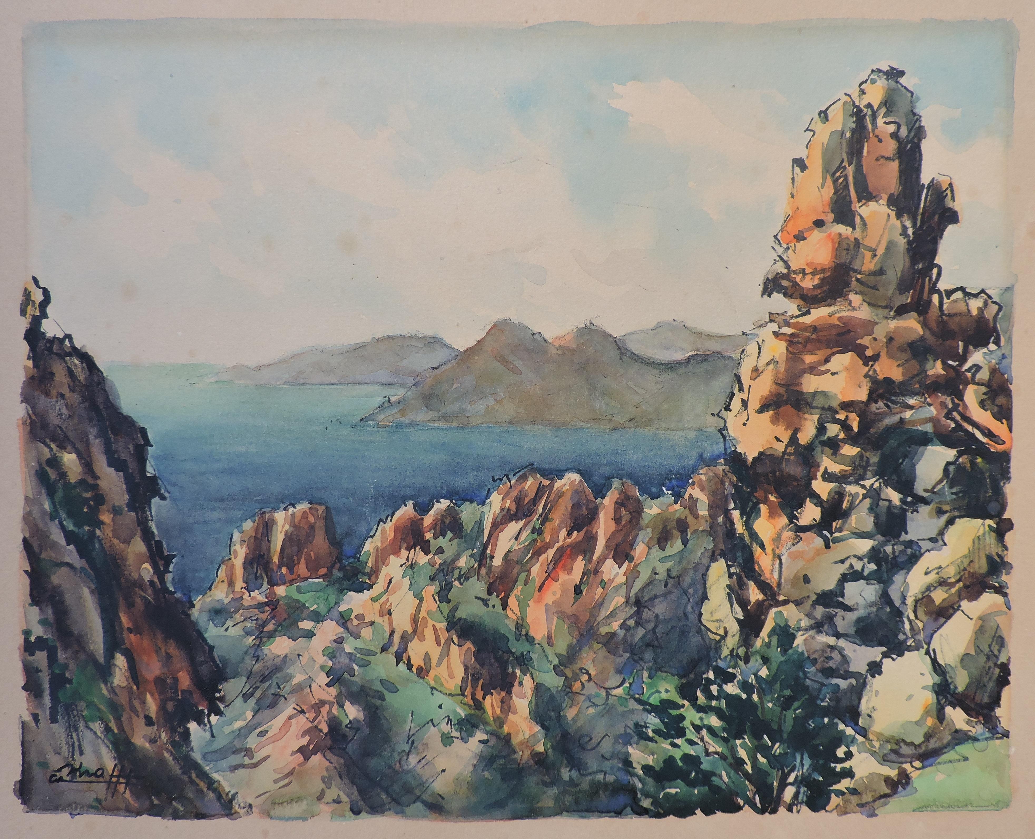 Calanques de Piana – Corse