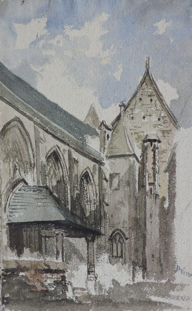 Rouen – Eglise Saint-Vivien