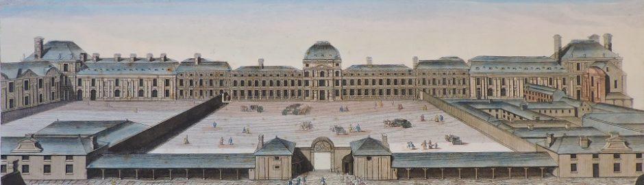 Paris-Palais des Tuileries-Louvre-Aveline