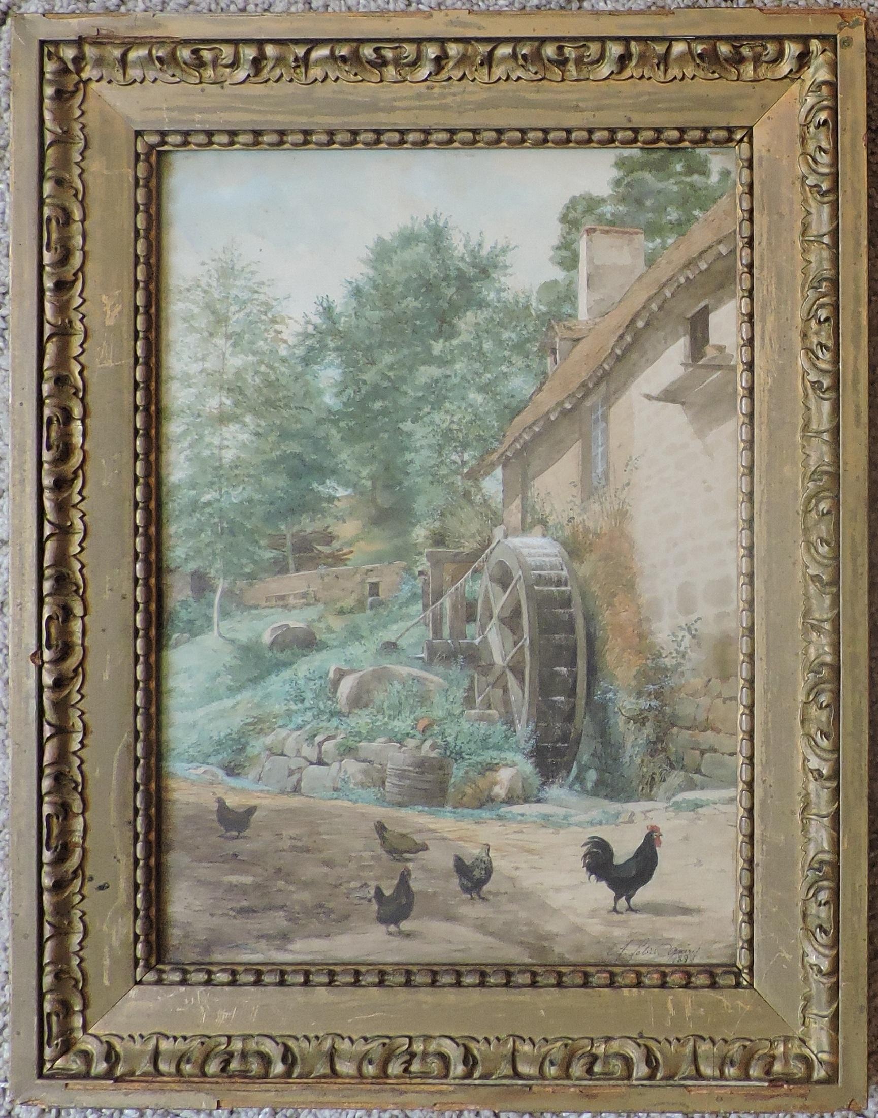 Guéret – Auguste Leloir